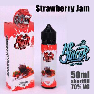 Strawberry Jam - Mr Juicer e-liquid - 70% VG - 50ml