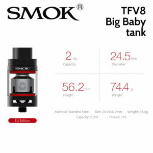 SMOK TFV8 Big Baby 2ml tank