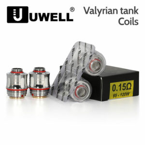 2 pack - UWELL Valyrian atomisers 0.15 Ohm