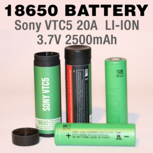 2 pack - SONY VTC5 18650 Rechargeable 2500mAh battery cells