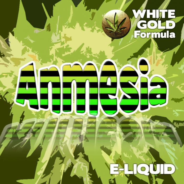 Amnesia - White Gold Formula e-liquid 60% VG - 10ml
