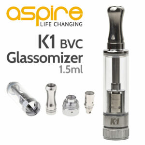 Aspire K1 Glassomizer Tank (BVC)