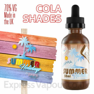 Cola Shades - Summer Holidays e-liquids by Dinner Lady - 70% VG - 50ml