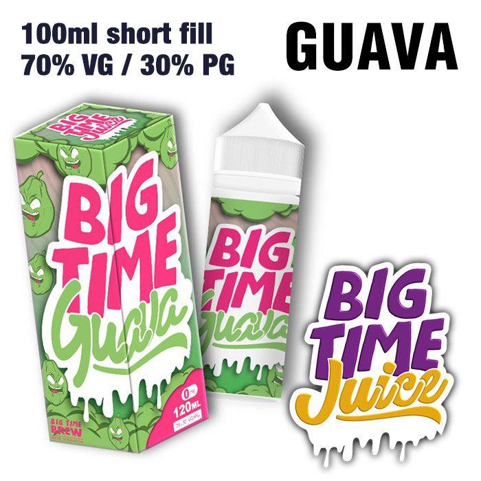 Guava - Big Time Juice - 70% VG - 100ml