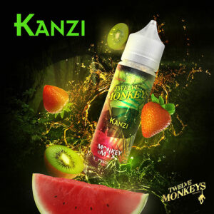 KANZI - Twelve Monkeys e-liquid - 80% VG - 50ml