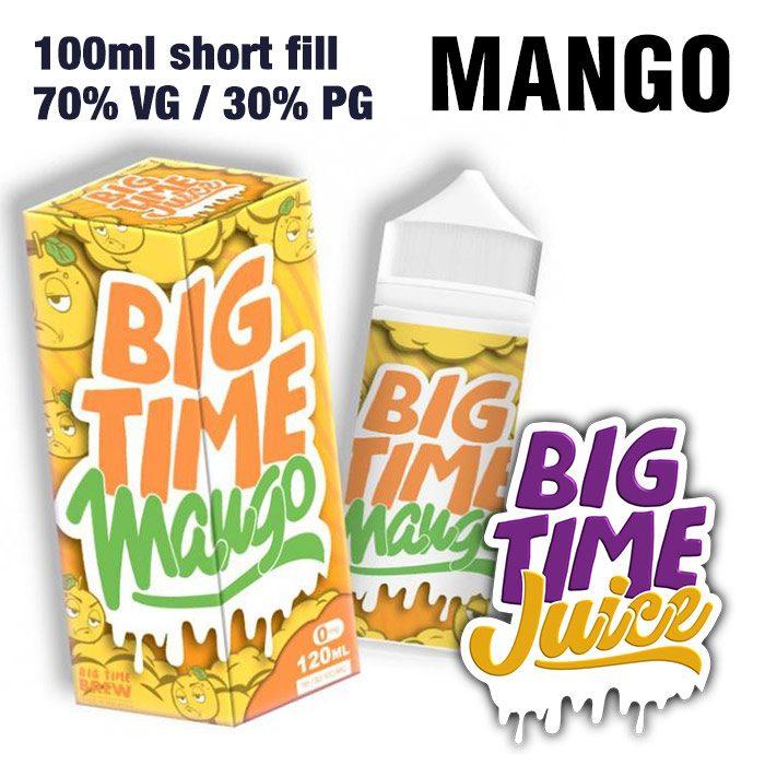 Mango - Big Time Juice - 70% VG - 100ml