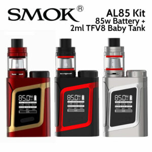 SMOK AL85 Vaping Kit with 85watt battery and 2ml TFV8 Baby Tank