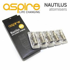 5 pack - Aspire NAUTILUS BVC Atomiser Coils