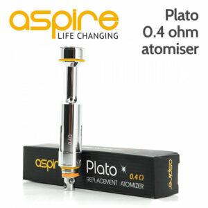 1 x Aspire Plato 0.4 ohm kanthal Clapton atomiser