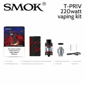 SMOK T-PRIV 220w vaping kit