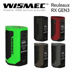 Wismec Reuleaux RX GEN3 300w TC box mod battery