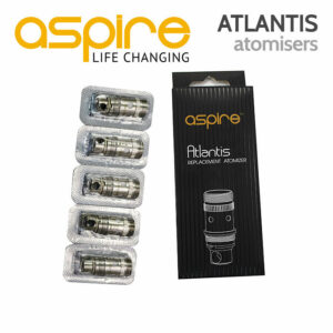 5 pack - Aspire ATLANTIS Atomisers