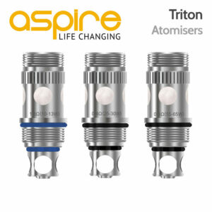 5 pack - Aspire Triton Atomisers