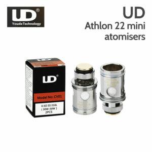 2 pack - UD Athlon 22 Mini MOCC Atomisers