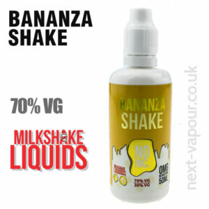 BANANZA SHAKE by Milkshake e-liquid - 70% VG - 50ml