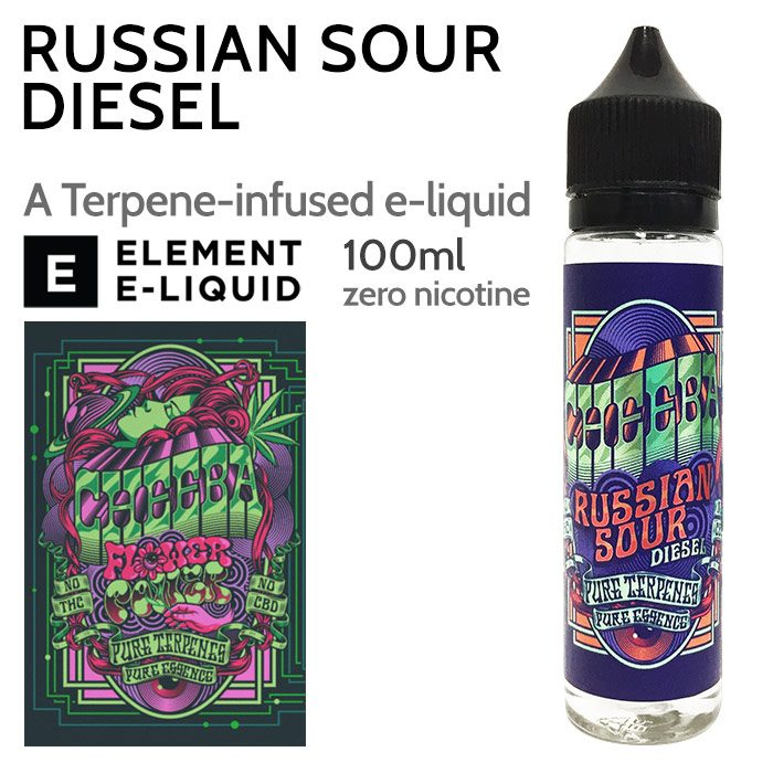 Russian Sour Diesel - Cheeba by Element e-liquid - 70% VG - 100ml