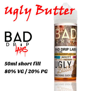 Ugly Butter - by Bad Drip e-liquid - 80% VG - 50ml