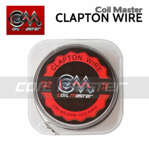 Coil Master Clapton Wire - 26ga Kanthal A1 and 30ga Nichrome - 10ft.