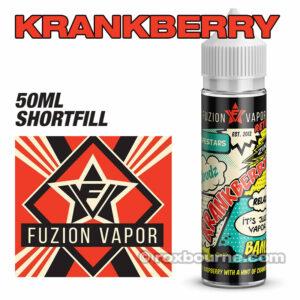 KRANKBERRY - Fuzion Vapor e-liquids 65% VG 50ml