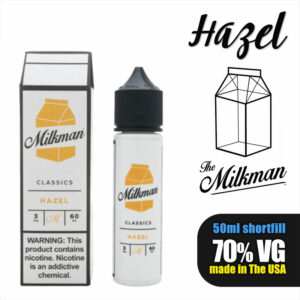 Hazel e-liquid by The Milkman - 70% VG - 50ml