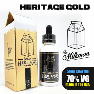 Gold by The Milkman Heritage - 70% VG - 50ml