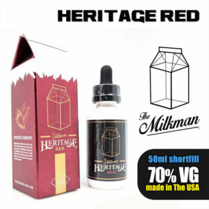 Red e-liquid by The Milkman Heritage - 70% VG - 50ml