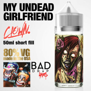 My Undead Girlfriend - Clown e-liquid by Bad Drip Labs - 80% VG - 50ml