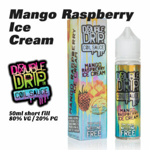 Mango Raspberry Ice Cream - Double Drip e-liquids - 50ml