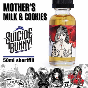 Mother's Milk and Cookies - Suicide Bunny e-liquids - 70% VG - 50ml