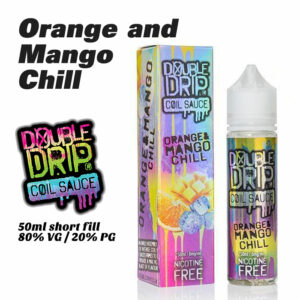 Orange and Mango Chill - Double Drip e-liquids - 50ml