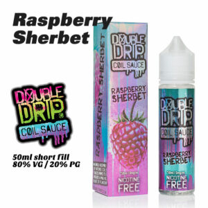 Raspberry Sherbet - Double Drip e-liquids - 50ml