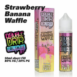 Strawberry Banana Waffle - Double Drip e-liquids - 50ml