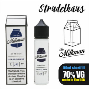 Strudelhaus e-liquid by The Milkman - 70% VG - 50ml