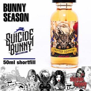 Bunny Season - Suicide Bunny e-liquids - 70% VG - 50ml