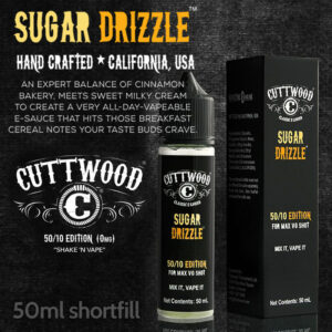 Sugar Drizzle e-liquid - Cuttwood Vapor - 70% VG - 50ml