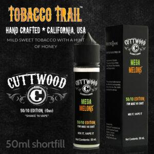 Tobacco Trail e-liquid - Cuttwood Vapor - 70% VG - 50ml