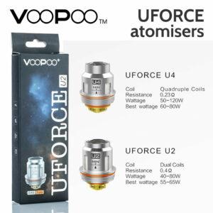 VOOPOO - UFORCE Atomisers