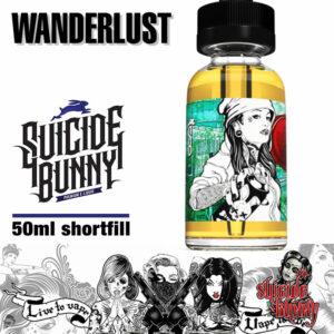Wanderlust - Suicide Bunny e-liquids - 70% VG - 50ml
