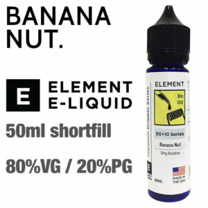 Banana Nut by Element e-liquids - 50ml