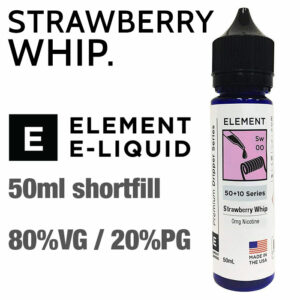 Strawberry Whip by Element e-liquids - 50ml