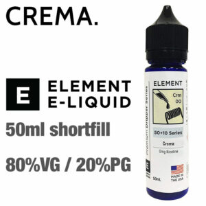 Crema by Element e-liquids - 50ml