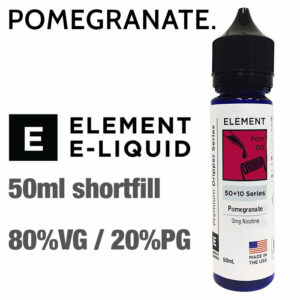 Pomegranate by Element e-liquids - 50ml