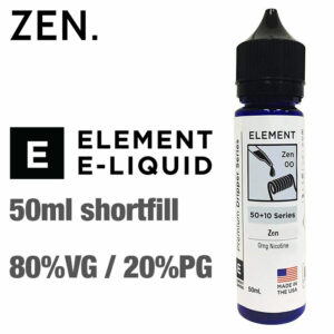 Zen by Element e-liquids - 50ml