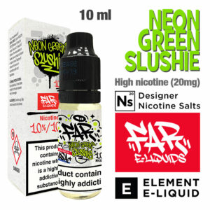 Neon Green Slushie - FAR e-liquids by ELEMENT - Salt Nic - 50% VG - 10ml
