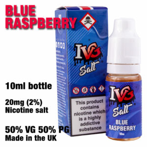Blue Raspberry - I VG e-liquids - Salt Nic - 50% VG - 10ml