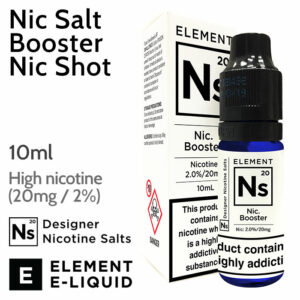 Nic Salt Booster Nic Shot by ELEMENT - 10ml