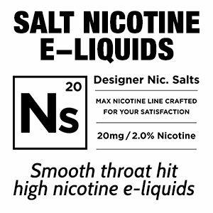 Salt Nicotine eliquids