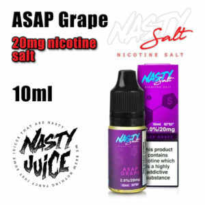 ASAP Grape - Nasty Salts e-liquid - 10ml