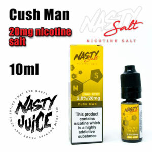 Cush Man - Nasty Salts e-liquid - 10ml