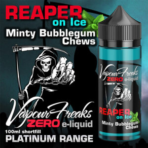 REAPER ON ICE - Vapour Freaks ZERO e-liquid - 70% VG - 100ml